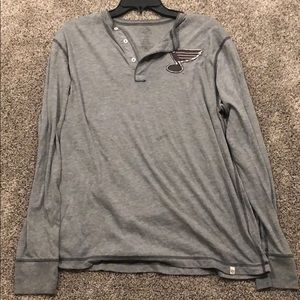 St. Louis blues long sleeve shirt